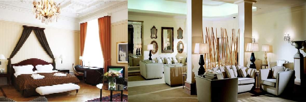 پاورپوینت مطالعات اقامتی هتل (بررسی طراحی های هتل)