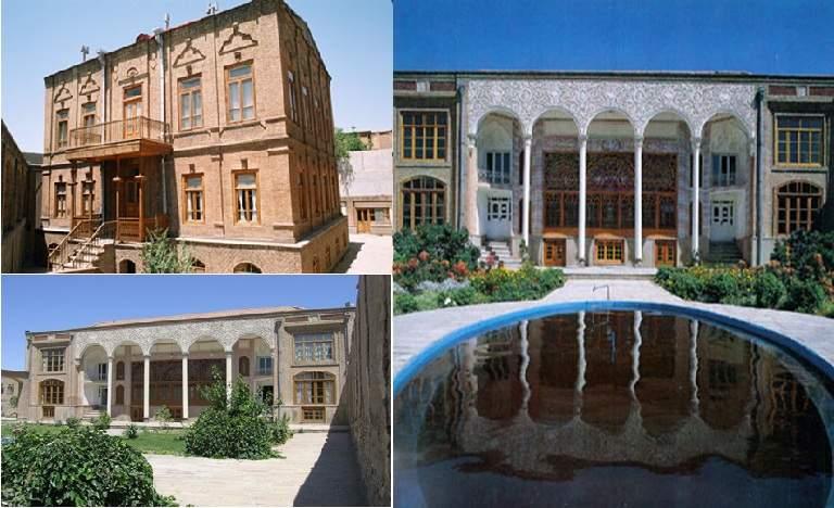 پاورپوینت بررسی خانه های تاریخی تبریز